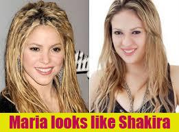 Maria looks like Shakira