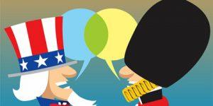 Diferenças entre Inglês - Americano e Britânico