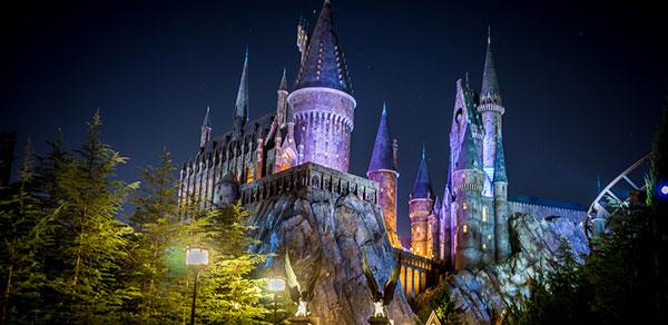 Castelo Harry Potter - Parque Universal