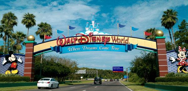 Entrada da Disney