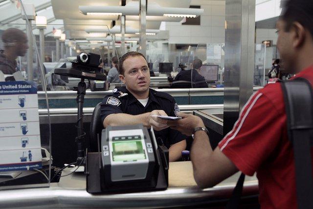 Imigração no Aeroporto nos EUA