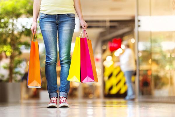 Diferença entre go shopping e shopping
