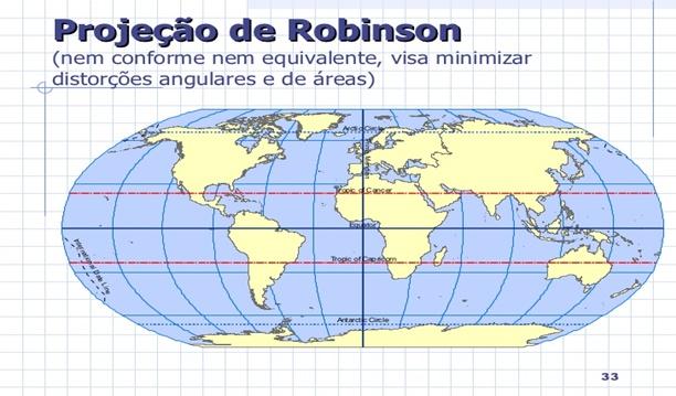 Mapa mundi de robinson
