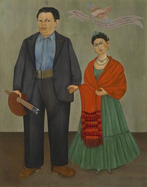 """Obra: """"Frida e Diego Rivera"""""""