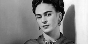 A artista Frida Kahlo
