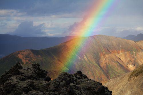 como se forma o arco-íris