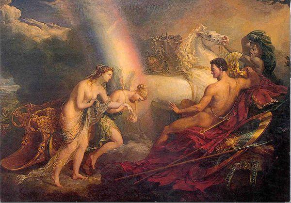 arco íris na mitologia