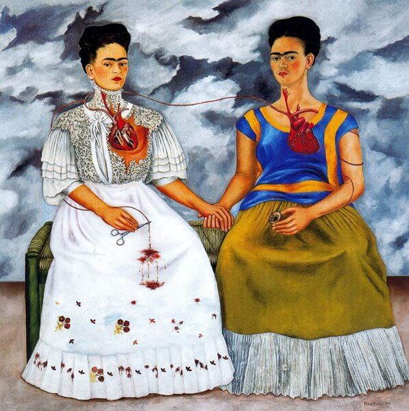 as duas fridas kahlo