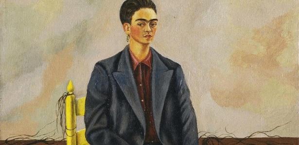 auto retrado com cabelos cortados frida kahlo