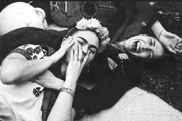 Frida Kahlo e amante Chavela Vargas