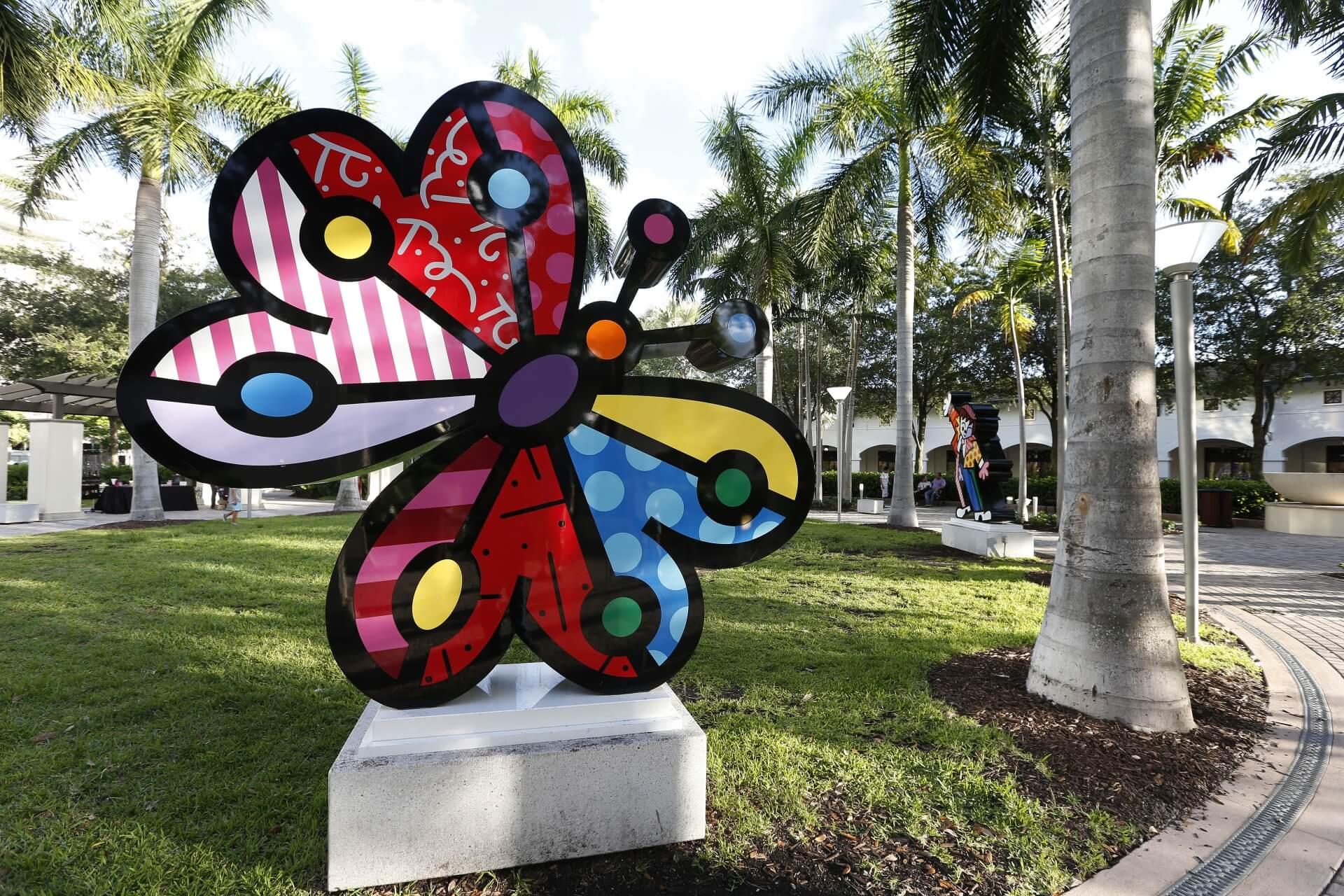 Romero Britto Escultura