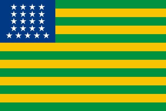 bandeira do brasil (1822 - 1889)