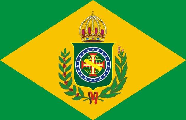 bandeira do brasil (1821- 1822)