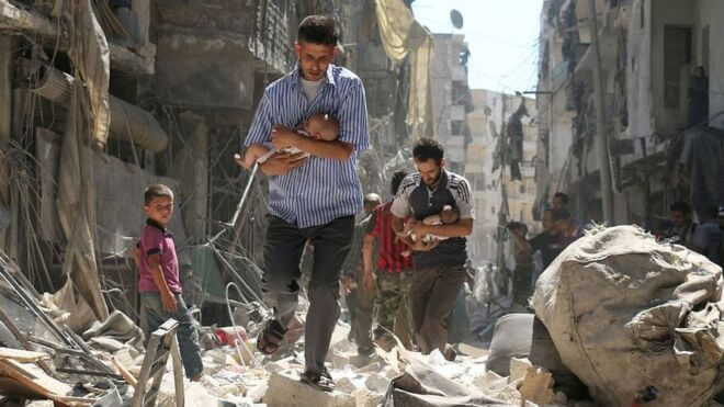 guerra da síria