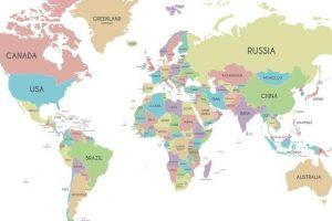 lista dos maiores paises do mundo