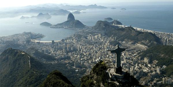 brasil maiores paises do mundo
