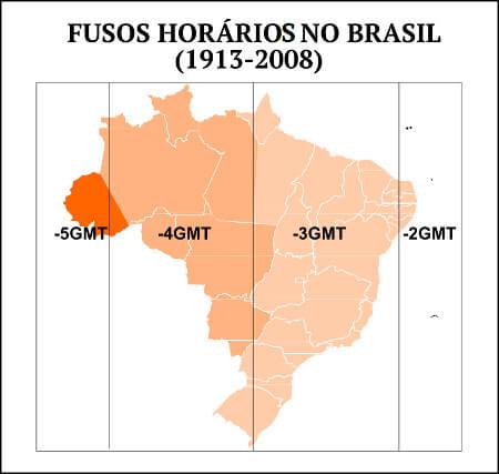 Fuso horário: história, cálculo e fusos do Brasil