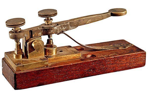 telegrafo código morse