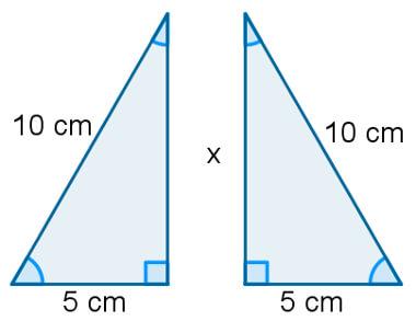 triângulo equilátero exemplo