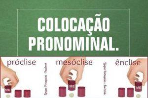 próclise mesóclise ênclise