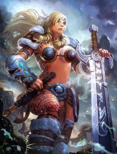 Deuses vikings Freya
