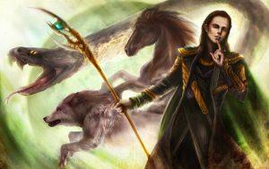Deuses vikings Loki