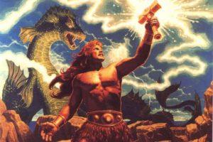 Deuses vikings Thor