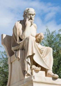 Estátua de Socrates