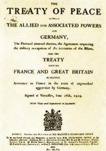 Tratado de Versalhes o que foi