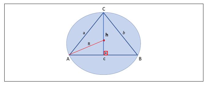 Área do triângulo13