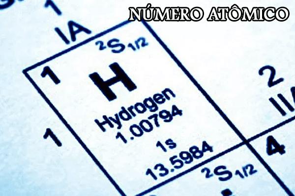 Número atômico4