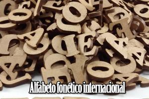 alfabeto fonético