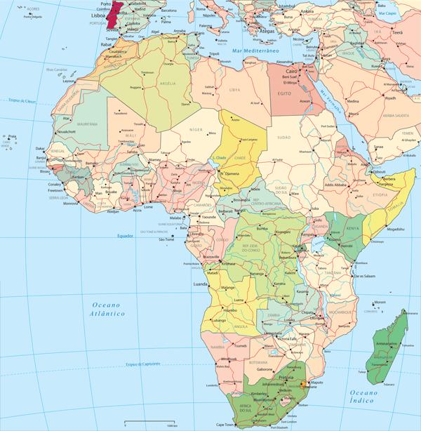 Mapa Múndi África