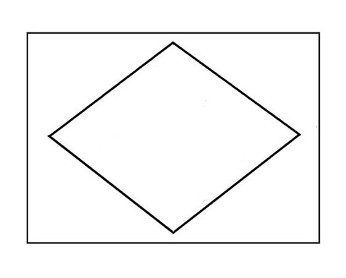 Como desenhar a bandeira do Brasil - Passo 2