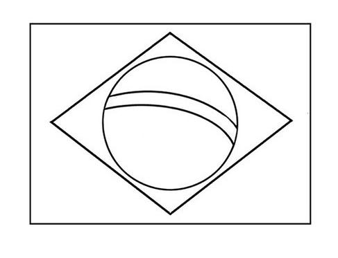 Como desenhar Bandeira do Brasil