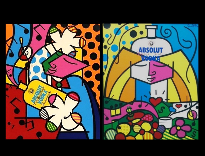 Absolut Vodka, Romero Britto