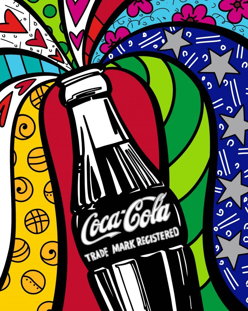 Coca-Cola Celebration, Romero Britto