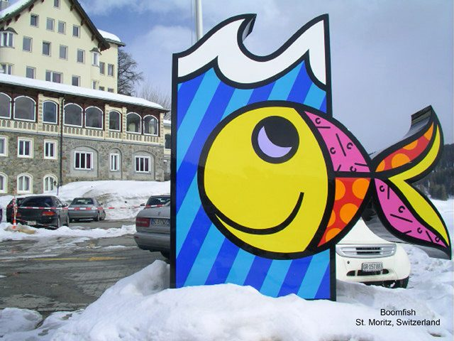 Boomfish, Romero Britto