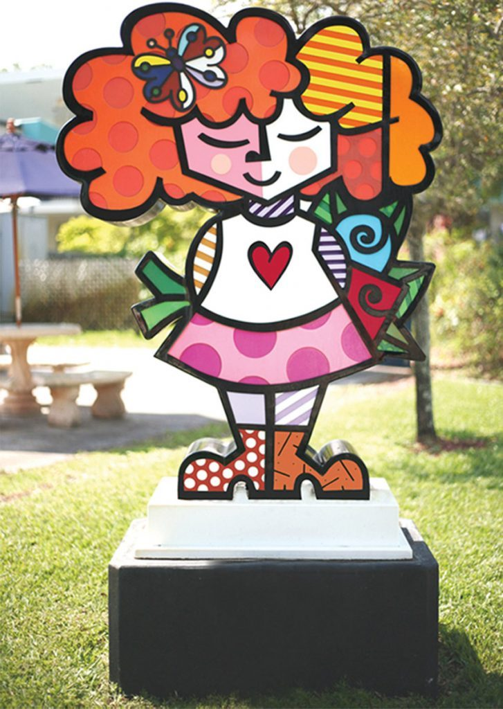 The Good Girl - Romero Britto