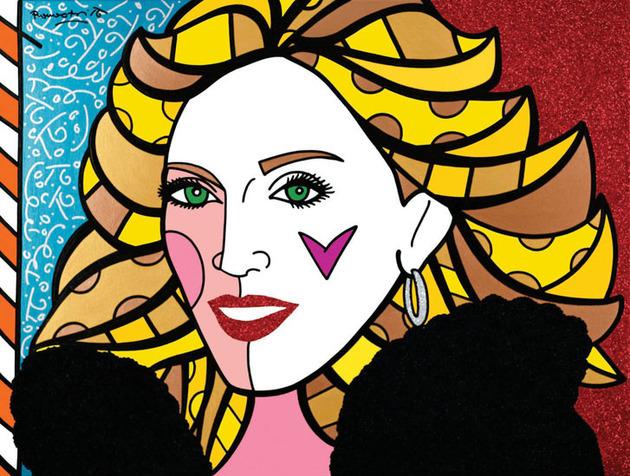 Madonna, Romero Britto