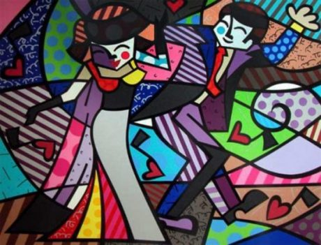 Night Out - Romero Britto