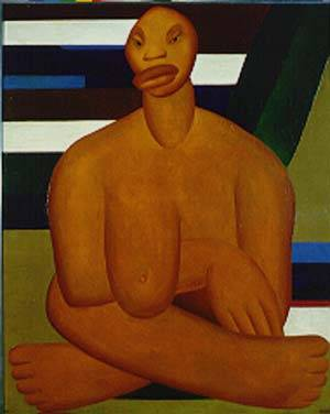 A negra - Tarsila do Amaral