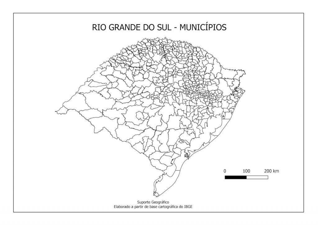 Mapa Do Rio Grande Do Sul Cidades Tipos De Mapa E Curiosidades
