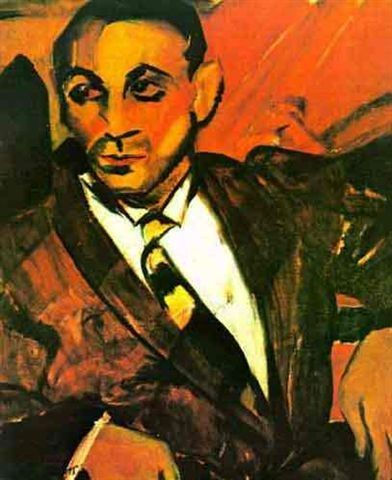 O homem Amarelo - Anitta Malfatti