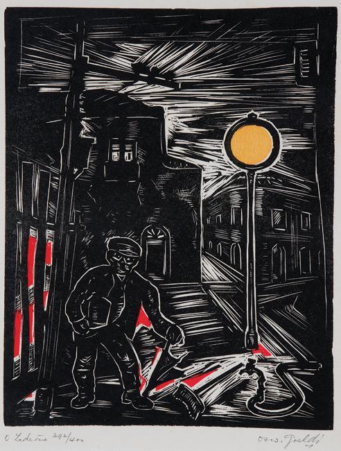 O Ladrão - Oswald Goeldi